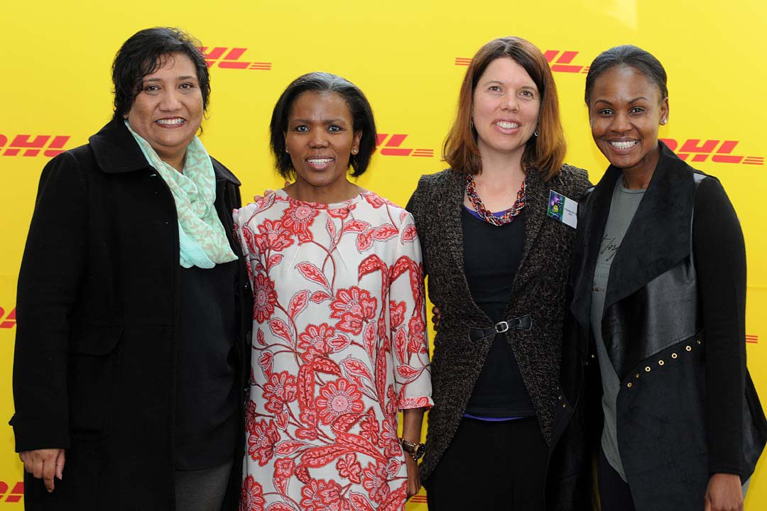 The team of speakers at DHL